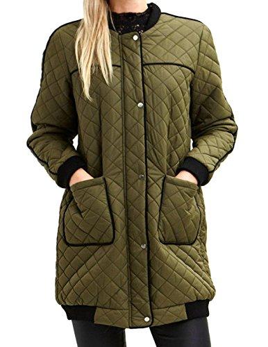 WRAP cappotto verde DONNA VILA VIRIRI M Verde