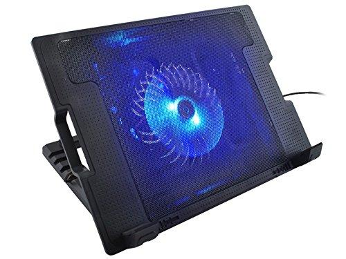 Iso Trade Notebook Laptop Kühler Cooler Ständer 5X LED Kühler Notebookkühler #2287