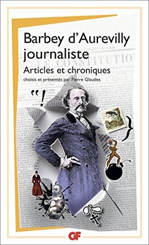 Barbey d'Aurevilly journaliste