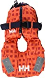Helly Hansen Kid Safe - Chaleco Unisex, Color Naranja, soporta 10-25 kg
