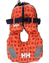 Helly Hansen Kid Safe - Chaleco  unisex, color naranja, soporta 10 - 25 kg