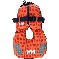 Helly Hansen Kid Safe - Chaleco unisex, color naranja, soporta 10-25 kg