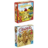 Pegasus Spiele 57104G Kingdomino Brettspiele, bunt + Camel Up, Spiel des Jahres 2014