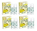 Natur Kräuter–Color Kräuter Blond klar Nr. 7–4Packungen mit 60ml frei von Ammoniak, resorcina, nonoxynol, s.l.s. und Nickel Tested