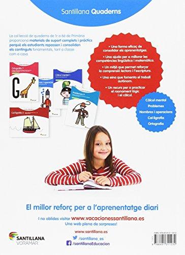 VACACIONES SANTILLANA 1 PRIMARIA REPAS - 9788491311232