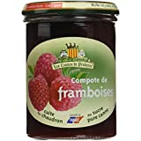 Les Comtes de Provence Compote de Framboise 420 g - Lot de 3