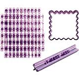 Ibili 729800 - Marcador de galletas abecedario + cortapastas