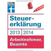 Steuererklärung 2013/2014 - Arbeitnehmer, Beamte