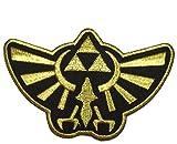 Legend of Zelda Hyrule's Royal Crest Gold Logo Patch - By Patch Squad by Patch Squad