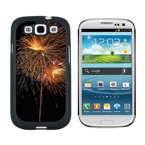 te von Juli–Snap on Hart Schutzhülle für Samsung Galaxy S3, Schwarz (Vierten Juli-zubehör)
