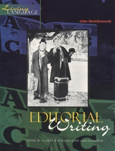 Editorial Writing (Living Language) by Shuttleworth, John published by Hodder Education (1999)