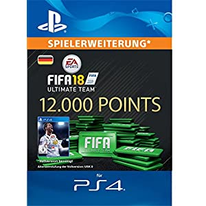 FIFA 18 Ultimate Team – 12000 FIFA Points | PS4 Download Code – deutsches Konto