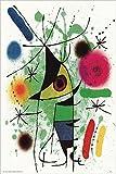 Der singende Fisch vON Joan Miro 24x 16Museum Poster Kunstdruck
