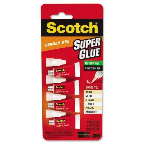scotch-products-scotch-scotch-single-use-super-glue-1-2-gram-tube-no-run-gel-4-pk-sold-as-1-pack-fas