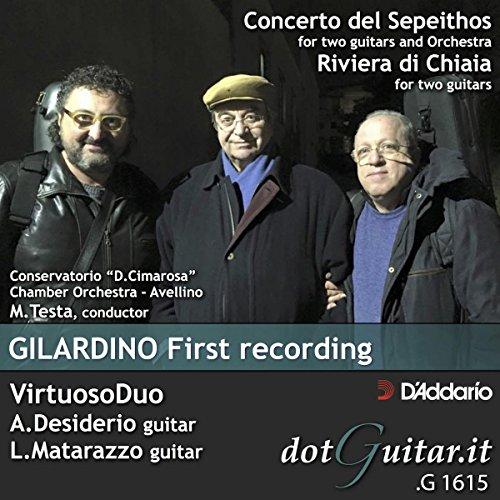 Gilardino First Recording
