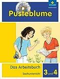 Pusteblume. Das Arbeitsbuch Sachunterricht - Allgemeine Ausgabe 2013: Arbeitsbuch 3 und 4