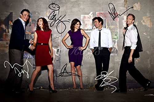 Póster pre firmado How I met your mother - 30x20