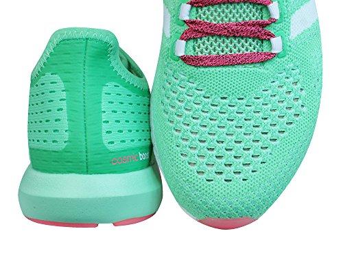 Adidas Cc Cosmic Boost M, verde / bianco / rosa, 9,5 M Us (cblack/ftwwht/cblack)