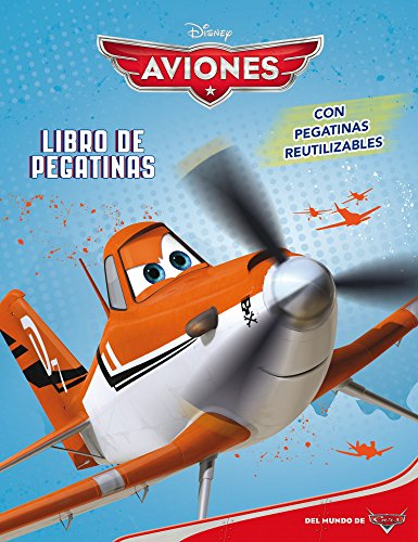 Aviones. Libro de pegatinas (Disney. Aviones)