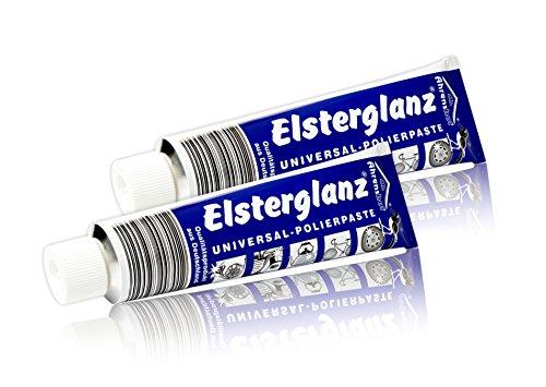 Preisvergleich Produktbild 2x 150ml Elsterglanz Universal Politur Polierpaste (3,86EUR/100ml)