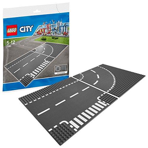 Lego City 7281 - Kurve/ T-Kreuzung
