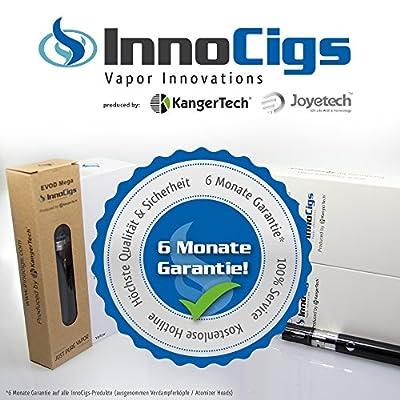 InnoCigs Mini Protank 3 Clearomizer Single Set fŸr E-Zigaretten - produced by KangerTech - Super Clearomizer mit tollem Geschmack und guter Dampfentwicklung! von InnoCigs