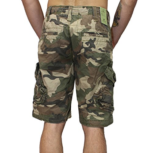 Jet Lag Shorts Take off 3 kurze Hose in charcoal cement schwarz olive camouflage Army Green Camo