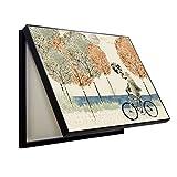 Wandbilder Wohnaccessoires Meter Box Wohnzimmer Esszimmer elektrische Box Wandgemälde Moderne minimalistische Schiebetüren Nordic kreative Wandbehänge (Color : Black, Size : 40 * 50cm)