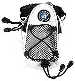 LinksWalker NCAA universitätsbasketballmannschaft Georgetown Hoyas–Mini Day Pack–Weiß