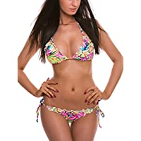 Set Costume donna RELLECIGA top bikini a triangolo con