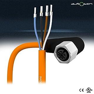 autosen AA027 - Sensorleitung 10m PVC M12 4Pol