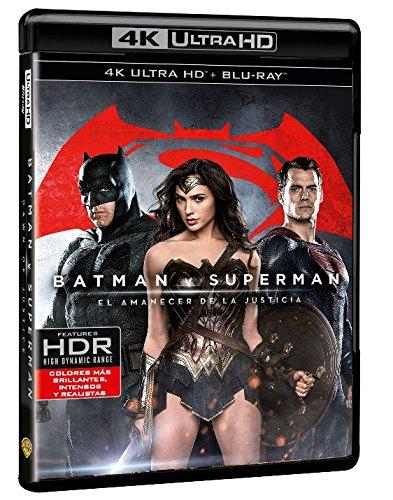 Batman V Superman: El Amanecer De La Justicia  (4K Ultra HD+ Blu-Ray + Copia...