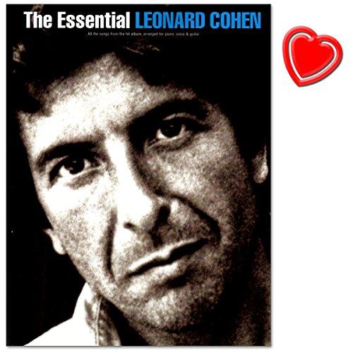 The Essential Leonard Cohen - passende Buch zur ultimativen Sammlung von Songs, ausgesucht von Leonard Cohen höchstpersönlich, um die Darstellung seines Lebens zu liefern - Songbook mit Notenklammer -