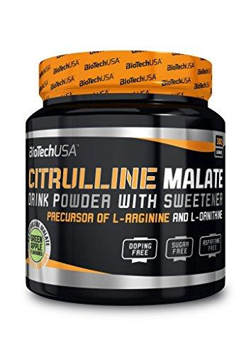 2 x Biotech USA Citrulline Malate Green Apple, 300g Dose (2er Pack)