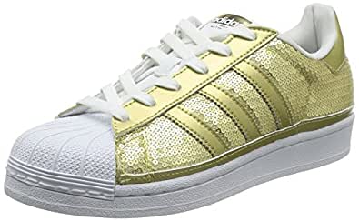 adidas Originals Superstar, Damen Sneakers, Gold (Gold Metalic/Gold Metalic/FTWR White), 40 2/3 EU (7 Damen UK)