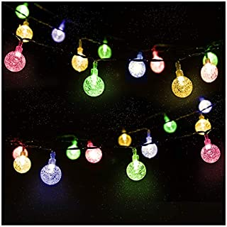 Mr.Twinklelight Solar String Lights 30 LED 4.5M Waterproof Festival Lights LED Solar Lights Celebrate Wedding/Birthday/Christmas Party Colourful Solar String Lights