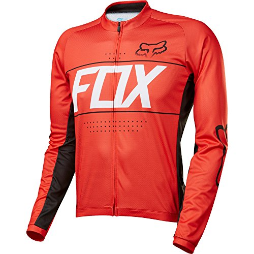 Fox XC-Jersey Ascent Rot Gr. S (Fox Racing Langarm-trikot)