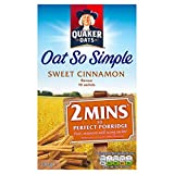 Quaker Oats Oat So Simple Sweet Cinnamon Porridge 10 X 33G
