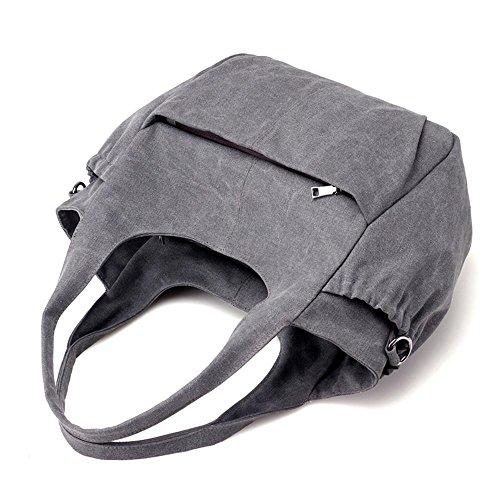 Sacchetto di tela di canapa Sacchetto alla moda del messaggero della spalla della borsa della tasca della piuma purple coffee
