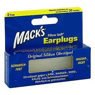 Macks Earpluggs 2X2 St