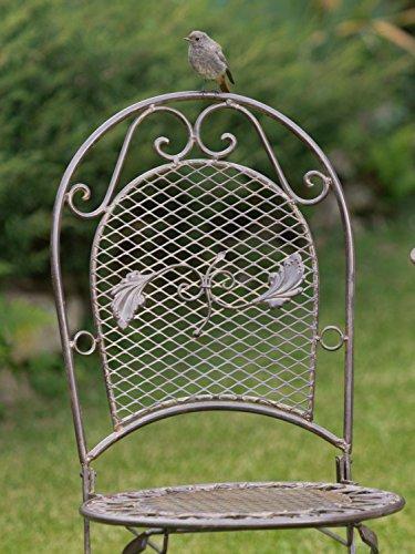 Gartenmöbel set aus Metall