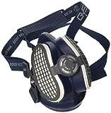 Elipse SPR502 P3 Schweißeratemschutz-Halbmaske gegen Staub und unangenehme Gerüche, Filter bereits befestigt, M/L, Blau