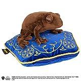 Noble Collection Grenouille en Chocolat avec Peluche Harry Potter avec Oreiller 36x33,5x10cm Marron Bleu Jaune
