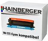 Hainberger Toner für Brother TN135 Cyan HL-4040CN HL-4050CDN HL-4050CDNLT HL-4070CDW DCP-9040CN DCP-9042CDN DCP-9045CDN MFC-9440CN MFC-9450CDN MFC-9840CDW