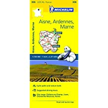 Michelin FRANCE: Aisne, Ardennes, Marne Map 306 (Maps/Local (Michelin)) by Michelin Travel & Lifestyle (2016-04-07)