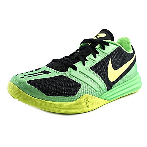Nike Mens KB Mentality Basketball Shoe Black/Poison Green-volt