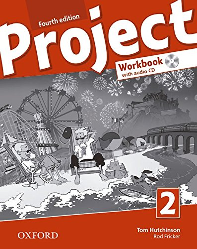 Project 2 : Workbook (1CD audio) par Tom Hutchinson