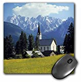 Danita Delimont - Churches - Austria, Gosau, Dachstein Alps, Spire of the church -EU03 RER0027 - Ric Ergenbright - MousePad (mp_71128_1)