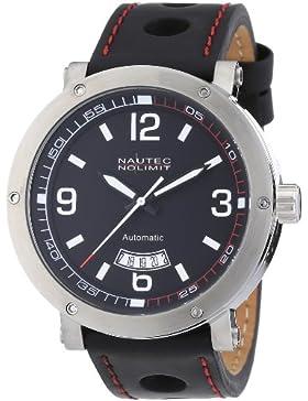 Nautec No Limit Herren-Armbanduhr Shamal SM AT/LTSTBK-RD