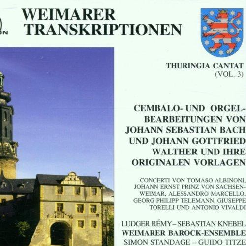 Johann Gottfried Walther: Concerto del Signore Tomaso Albinoni, appropiato all' Organo B-Dur - II....